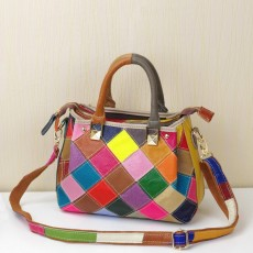 New European and American color small bag multi-purpose handbag female bag