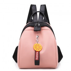 Small fresh backpack female 2020 new Korean version multifunctional simple cute girl student bag casual travel bag