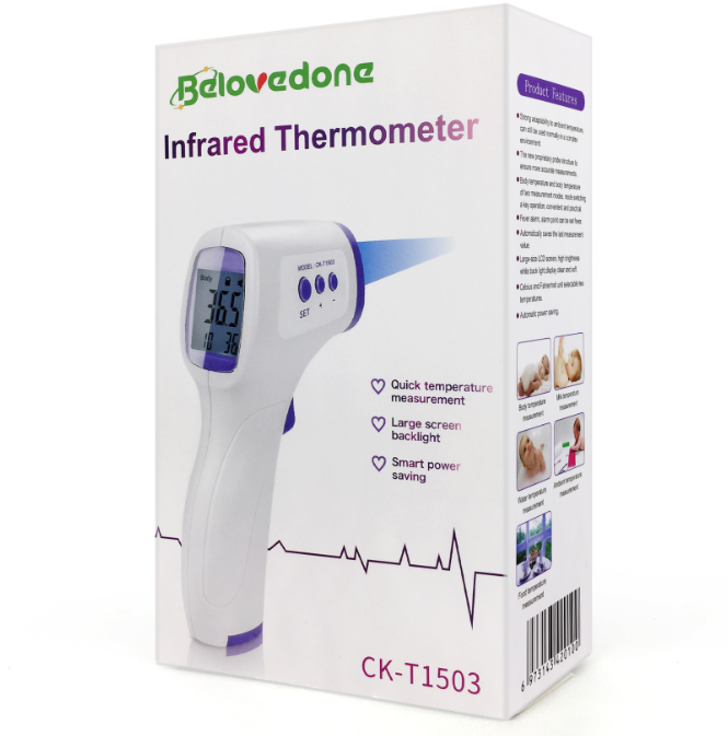 Body Temperature Checking thermometer Infrarojo Infrared thermometer  Adult Forehead Gun 15Cm Measure Thermometers Digital  FDA CE APPROVAL 5