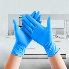 100pcs Disposable Gloves Latex Cleaning Food Gloves Universal Household Garden Cleaning Gloves Home Cleaning Rubber