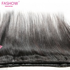 Indian Hair Straight Hair Bundles 100% Natural Human Hair  Bundles Double Wefts Thick Remy Hair