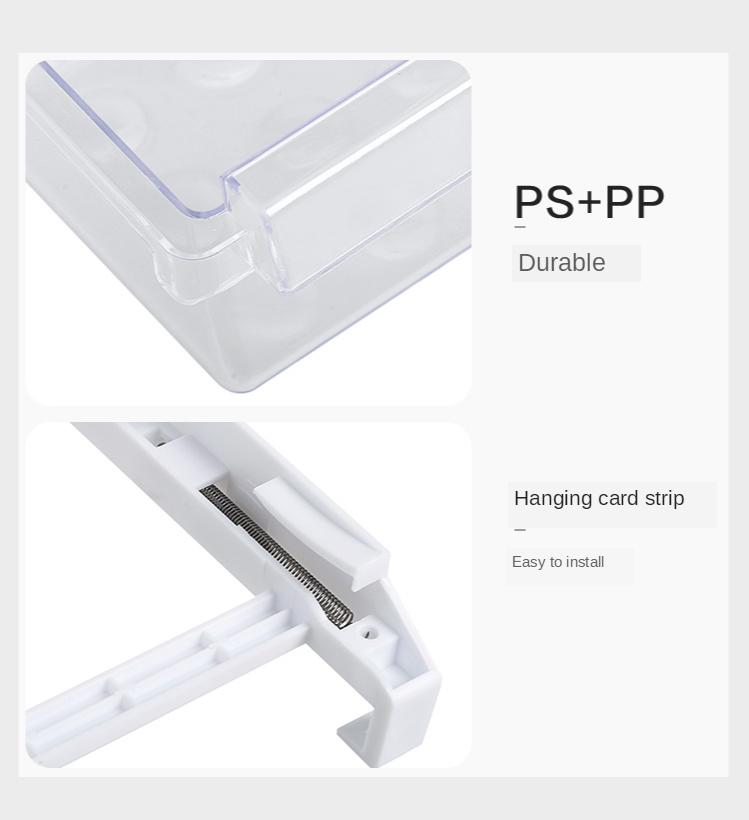 Home Refrigerator Storage Box Artifact Drawer Dedicated Food Storage Box Food Plastic Box Rectangular Egg Box 12