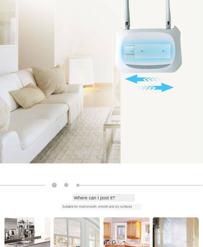 Socket strip plug-in board holder wall-mounted plug-in wire on the wall, paste-type nail-free wall plug-in board, traceless and strong 7