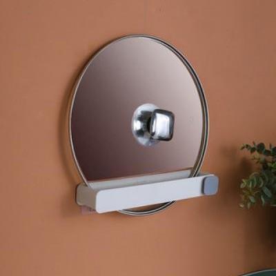 Bathroom slippers rack toilet rack wall-mounted free punch hook toilet storage artifact foldable
