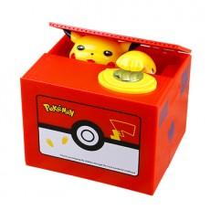 Steal money cat piggy bank Pikachu piggy bank net red the same paragraph children's birthday gift piggy box boys and girls