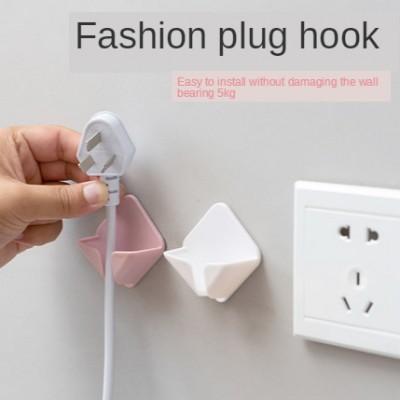 Household fruit-shaped viscose socket hook Wall-mounted power plug bracket Kitchen wall strong adhesive hook
