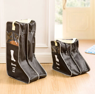 Home boot storage bag Shoe storage bag Visual dustproof boot cover 3