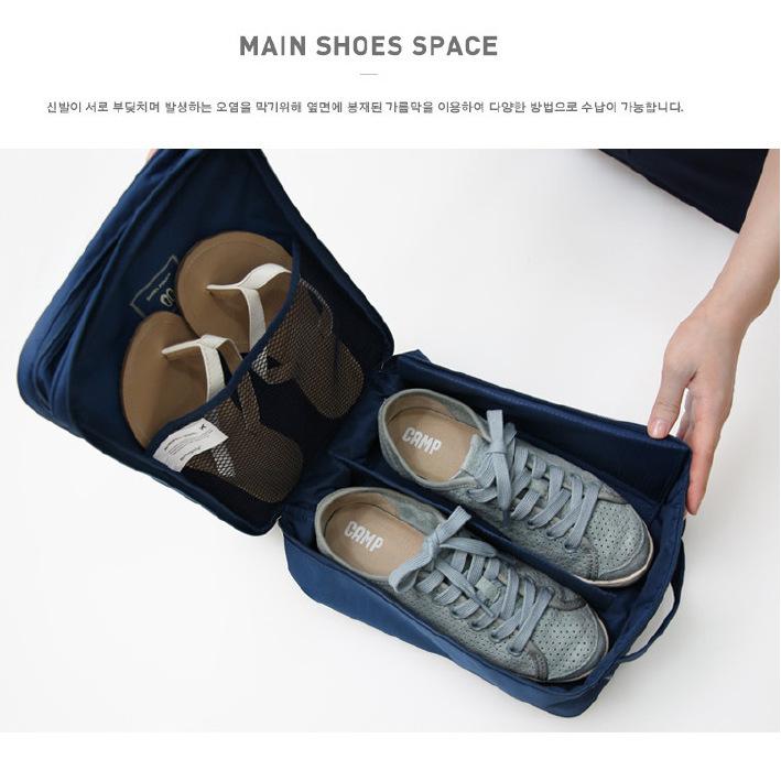 Storage shoe bag second-generation double-layer three-position waterproof travel shoe bag upgrade shoe storage bag 7