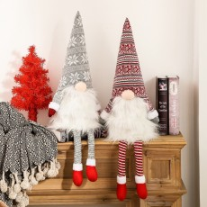Christmas New Products Decorations Forest Elderly Cone Spring Tree Top Star Faceless Doll Tree Top Star 2 Piece Set