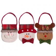 Christmas Christmas Gift Bag Santa Claus Handbag Christmas Eve Gift Bag Christmas Decorations