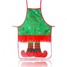 Christmas decoration apron fabric color printing decoration props waist cartoon Christmas clothes