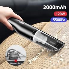 5500Pa Portable Vacuum Cleaner for Car Handheld Car Vacuum Cleaner with Cyclone Filter Car Cleaner Light Cyclone Vacuum Cleaner