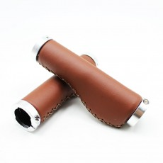 PU bicycle grips Comfortable Vintage durable retro bike Mountain bicycle Folding Bicycle grip handle Accessories bicycle parts