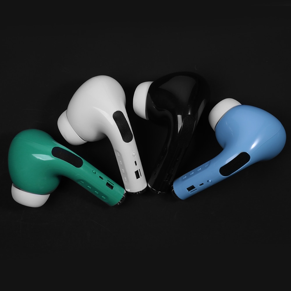 Bluetooth Speaker Big Pea Giant Headset Speaker FM Mic TF Card AUX USB Wireless Portable Speakers Sound 3D Stereo soundbar 7