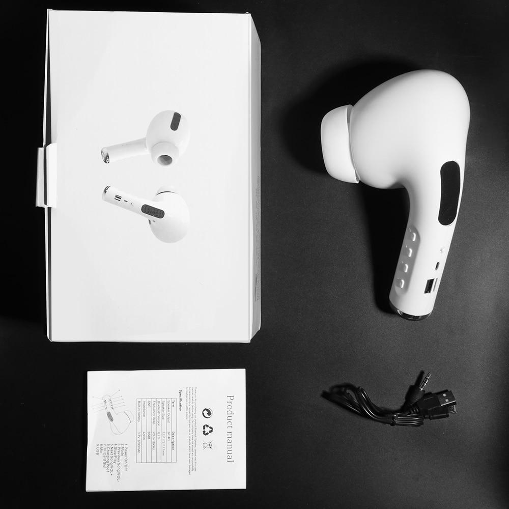 Bluetooth Speaker Big Pea Giant Headset Speaker FM Mic TF Card AUX USB Wireless Portable Speakers Sound 3D Stereo soundbar 9
