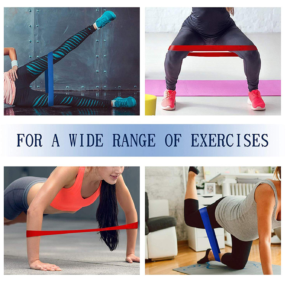 WorthWhile Gym Fitness Resistance Bands Yoga Stretch Pull Up Assist Rubber Bands Crossfit Exercise Training Workout Equipment 7