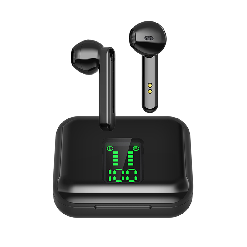 Bluetooth Wireless Headphones Touch Control LED Display Bluetooth 5.0 Gaming Headset Sports Waterproof Earphones 13