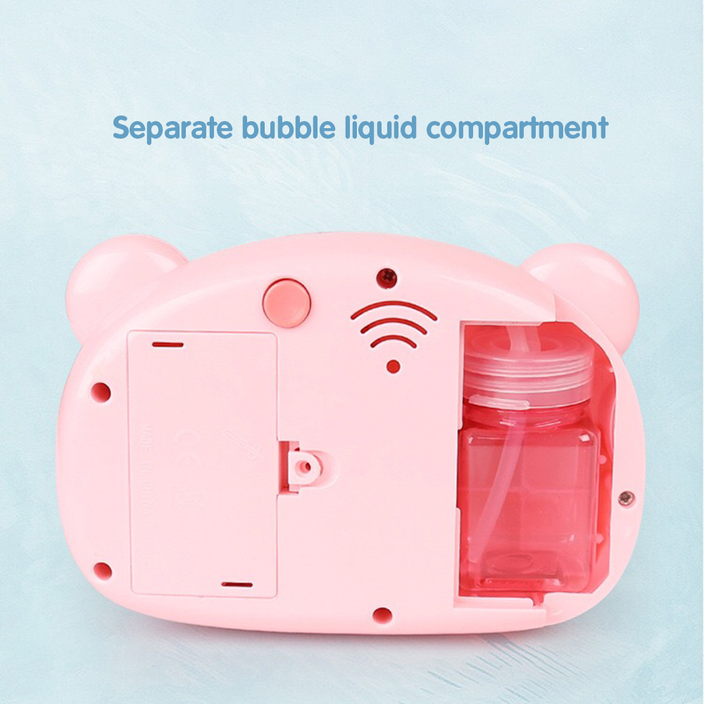 Automatic Funny Cute Cartoon Pig Camera Baby Bubble Machine Outdoor Automatic Maker Bubble Gifts for Kids and Girls 6