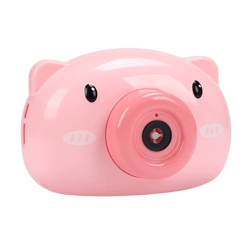 Automatic Funny Cute Cartoon Pig Camera Baby Bubble Machine Outdoor Automatic Maker Bubble Gifts for Kids and Girls 11