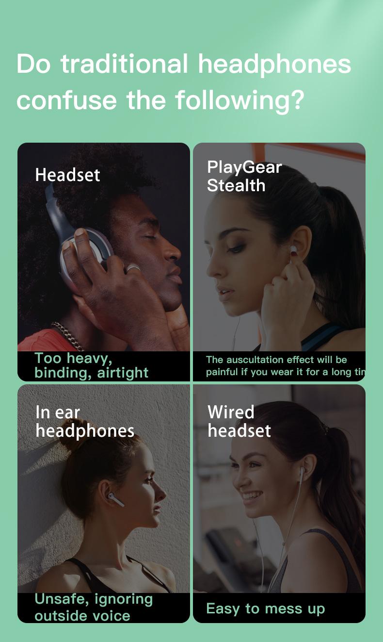 New Bluetooth Headphones Bone Conduction Earphone Outdoor Sport Headset Earhook Wireless Bluetooth Earphones Waterproof Earbuds 8