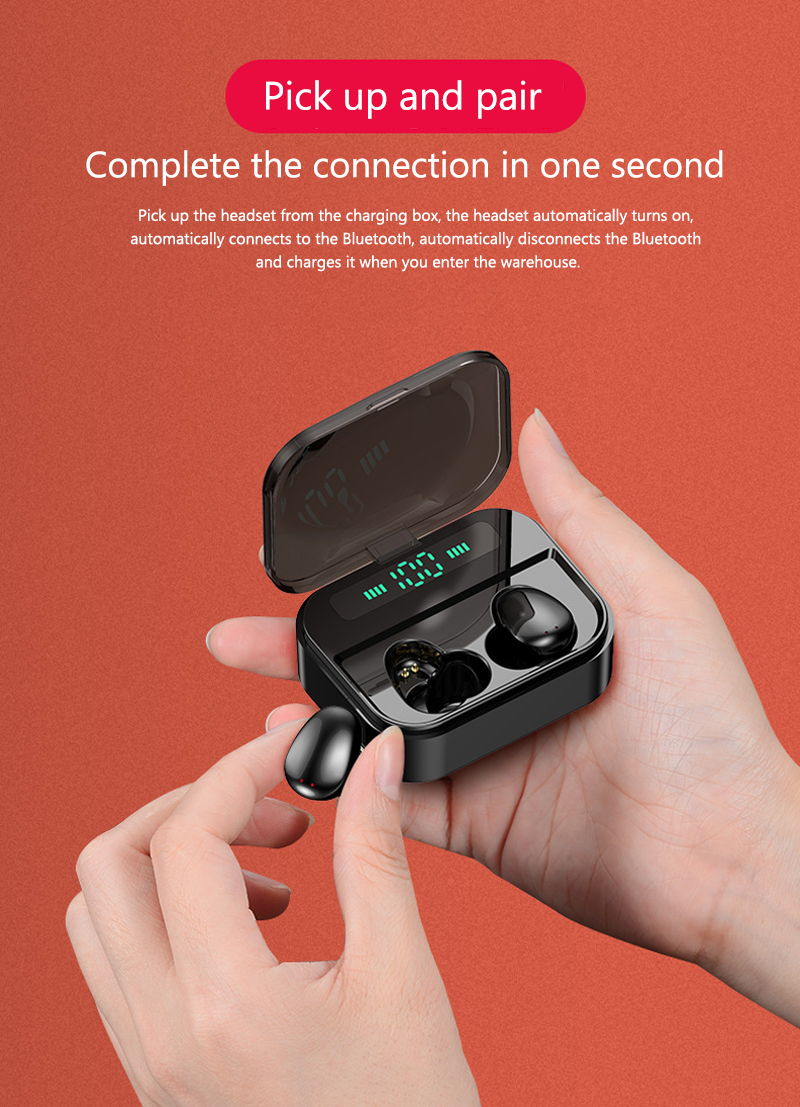 X7 Bluetooth Earphone 3600mAh Power Bank True Wireless Earbuds M7 TWS Touch Control Wireless Earphones For iPhone xiaomi huawei 2