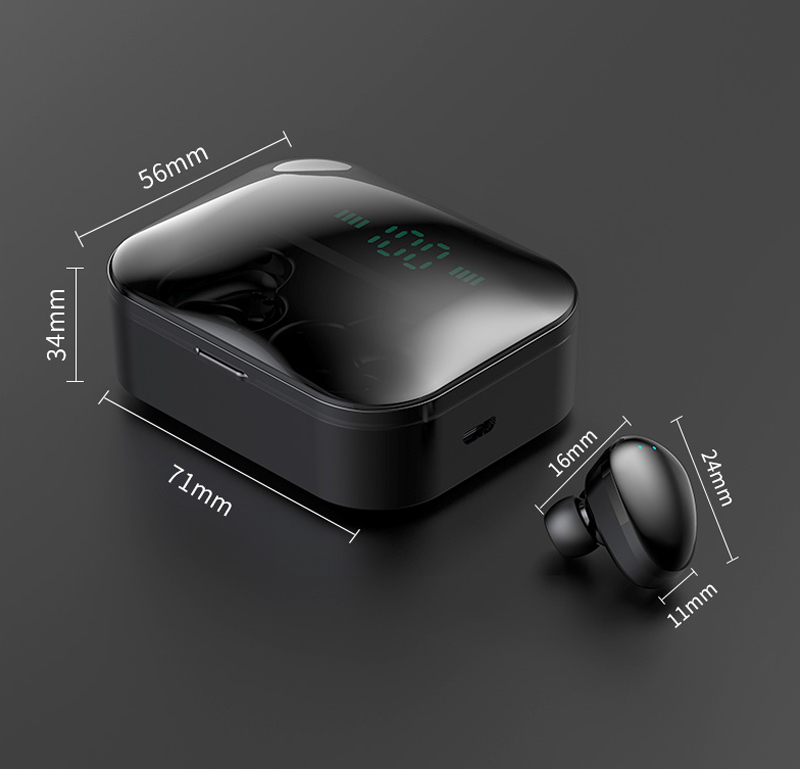 X7 Bluetooth Earphone 3600mAh Power Bank True Wireless Earbuds M7 TWS Touch Control Wireless Earphones For iPhone xiaomi huawei 9