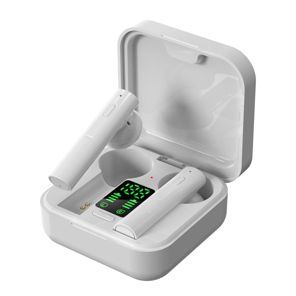 AIR6 Plus Bluetooth 5.0 Wireless Digital Display Stereo Sports Earphones Earbuds Mini Ture Wireless Headset For Xiaomi Huawei 7