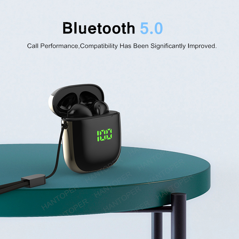 Bluetooth 5.0 Earphone Wireless Earphones Stereo Sport Wireless Headphones Earbuds headset With LED Power Display For all Phones 8