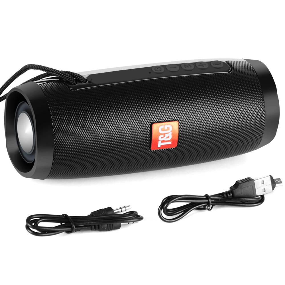 Portable Speakers Bluetooth Column Wireless Bluetooth Speaker Powerful High BoomBox Outdoor Bass HIFI TF FM Radio with LED Light 11