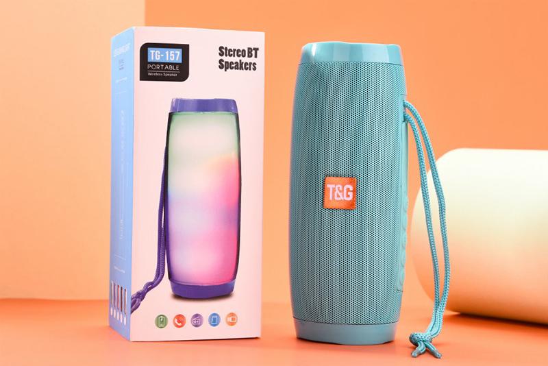 Portable Speakers Bluetooth Column Wireless Bluetooth Speaker Powerful High BoomBox Outdoor Bass HIFI TF FM Radio with LED Light 14