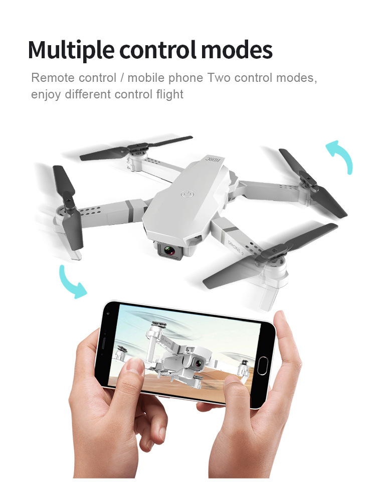 E59 RC Drone 4K HD Camera Professional Aerial Photography Helicopter 360 Degree Flip WIFI Real Time Transmission Quadcopter 1