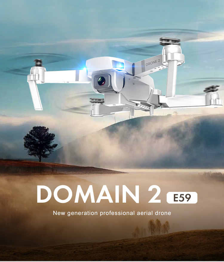 E59 RC Drone 4K HD Camera Professional Aerial Photography Helicopter 360 Degree Flip WIFI Real Time Transmission Quadcopter 0