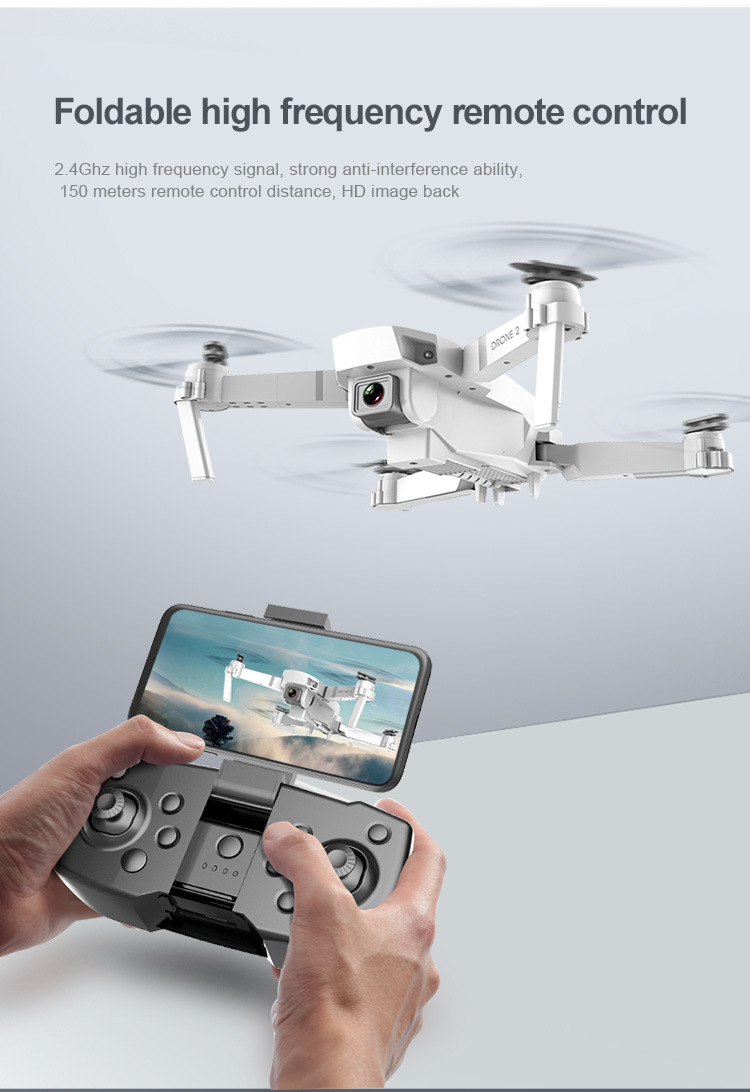 E59 RC Drone 4K HD Camera Professional Aerial Photography Helicopter 360 Degree Flip WIFI Real Time Transmission Quadcopter 7