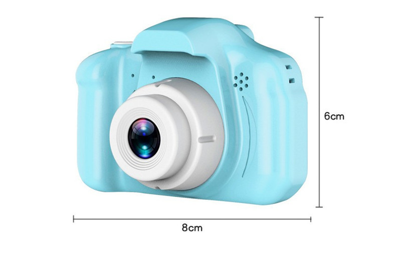 Children Kids Camera Educational Toys for Baby Gift Mini Digital Camera 1080P Projection Video Camera with 2 Inch Display Screen 8