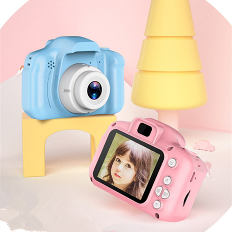 Children Kids Camera Educational Toys for Baby Gift Mini Digital Camera 1080P Projection Video Camera with 2 Inch Display Screen 4