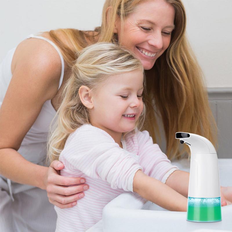 Infrared Sensor Soap Dispener Waterproof Automatic Touchless Soap Dispenser Infrared Sensor Foam Dispenser for Hotel Bathroom 1