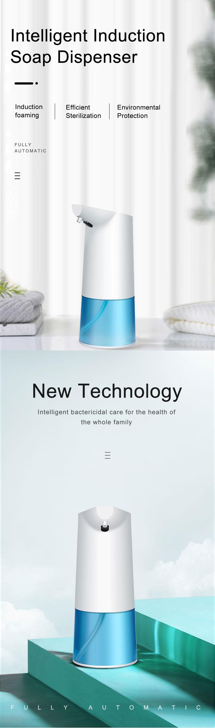 Touchless Bathroom Dispenser Smart Sensor Liquid Soap Dispenser for Kitchen Hand Free Automatic Soap Dispenser 3