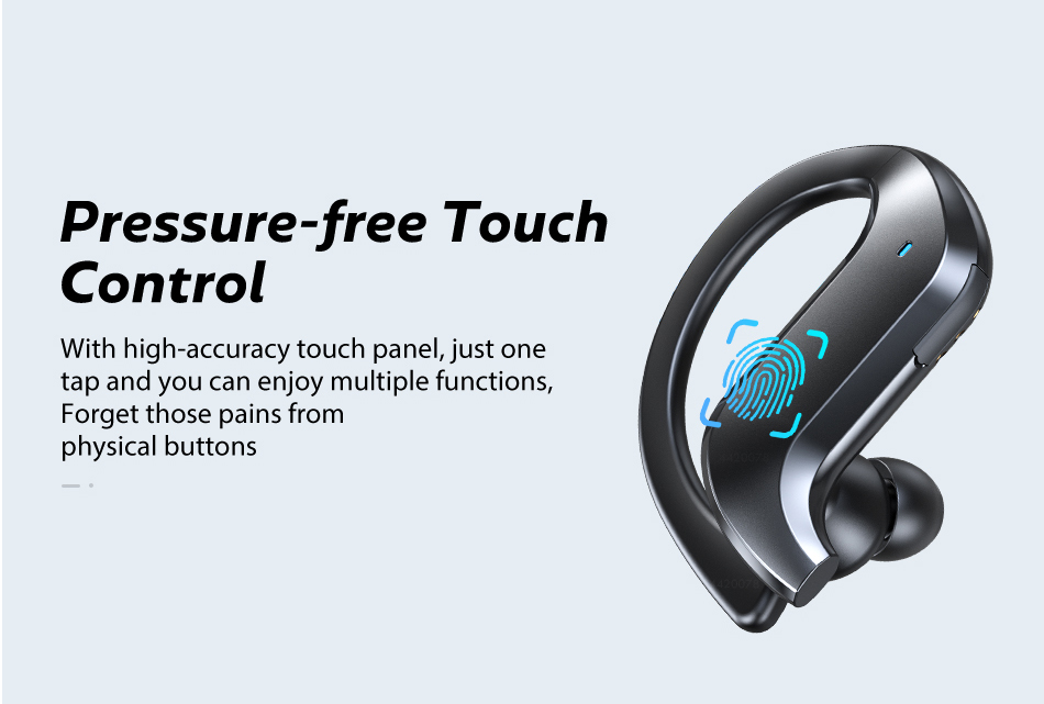 TWS Bluetooth 5.0 Earphones Wireless Bluetooth Headphone Noise Cancelling 9D HiFi Stereo Sport Headset Handsfree With Microphone 6