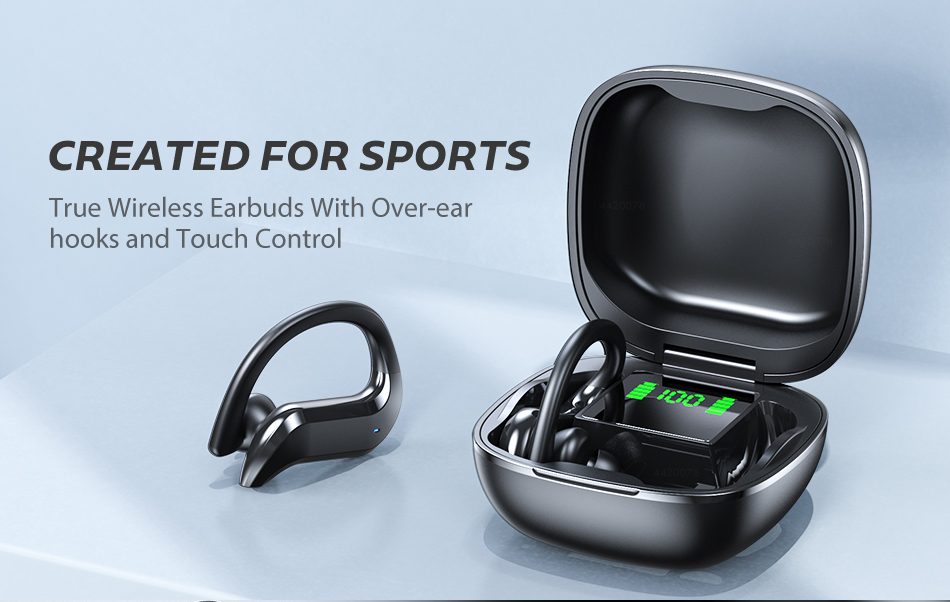 TWS Bluetooth 5.0 Earphones Wireless Bluetooth Headphone Noise Cancelling 9D HiFi Stereo Sport Headset Handsfree With Microphone 0