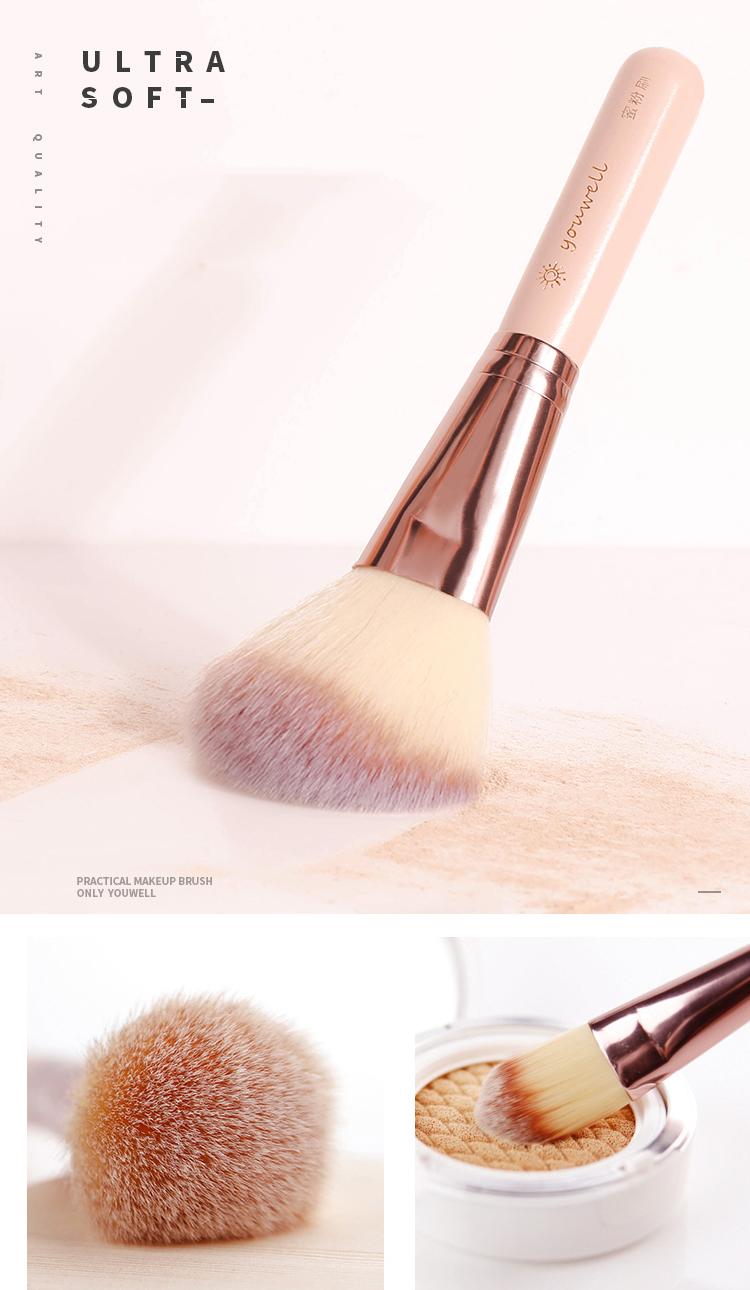 Makeup Brush Tool Set Cosmetic Powder Eye Shadow Foundation Blush Blending Beauty Make Up Brush with Makeup Brush Holders 0