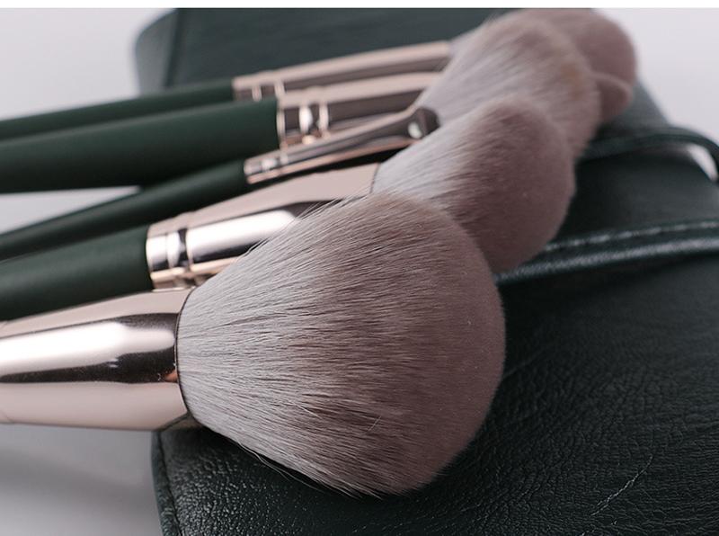 14Pcs Makeup Brushes Set Cosmetic Foundation Powder Blush Eye Shadow Lip Blend Wooden Make Up Brush Tool Kit Maquiagem 1