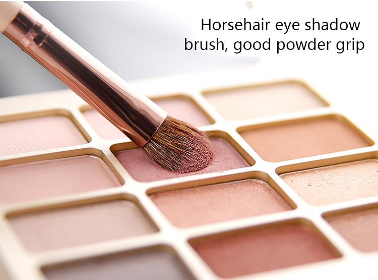 Makeup Brush Tool Set Cosmetic Powder Eye Shadow Foundation Blush Blending Beauty Make Up Brush with Makeup Brush Holders 1