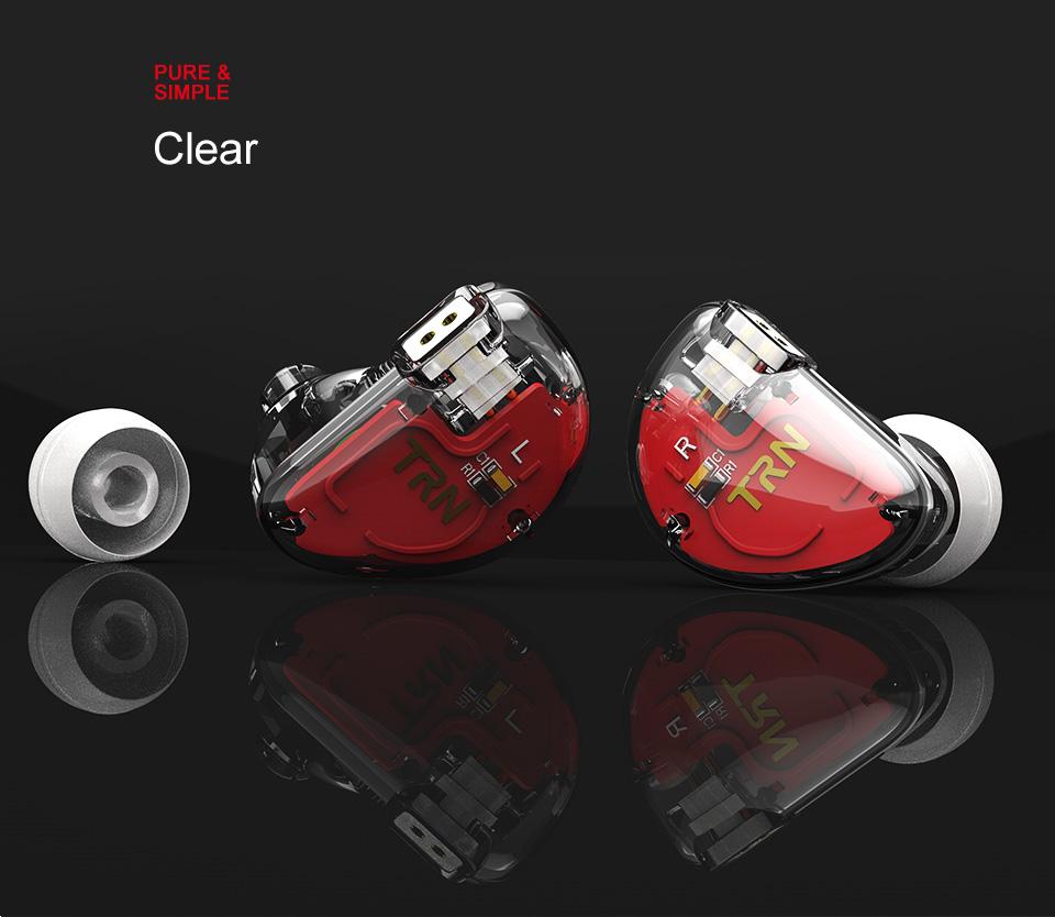 TRN V30 2BA+1DD Hybrid Earphone DJ IEM Monito Sport Earphone 3 Drive Earplug Headset 2Pin Detachable Trn HIFI Earphone 9