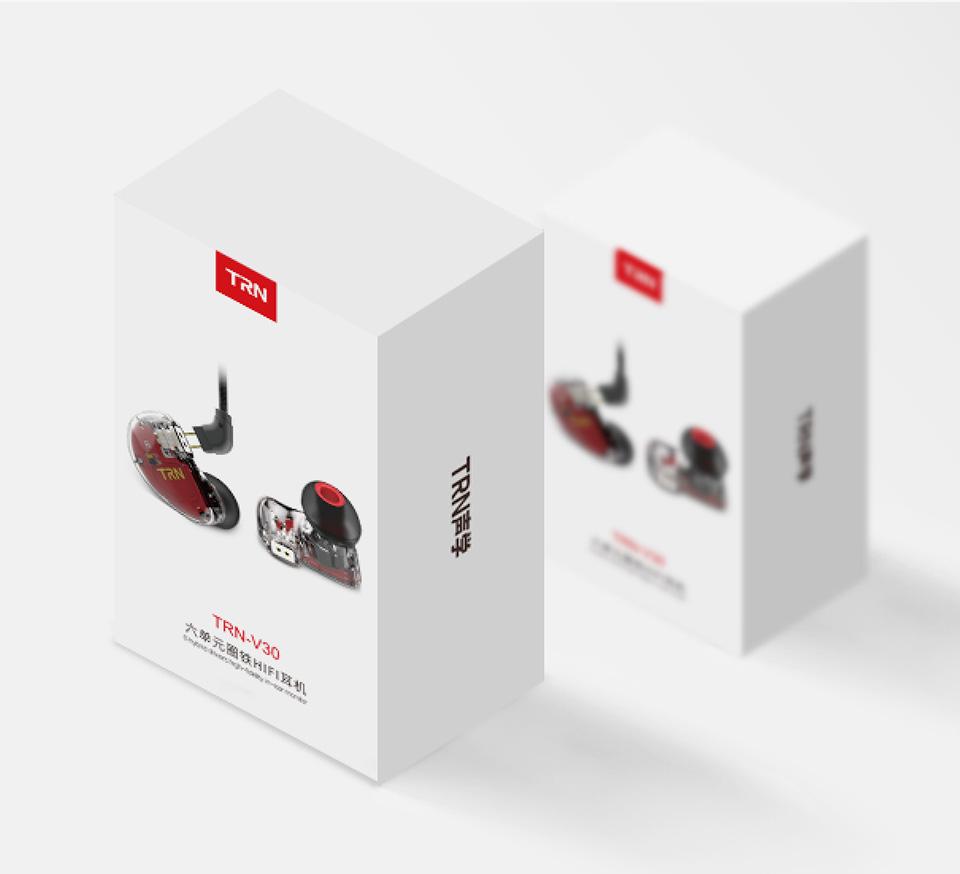 TRN V30 2BA+1DD Hybrid Earphone DJ IEM Monito Sport Earphone 3 Drive Earplug Headset 2Pin Detachable Trn HIFI Earphone 19
