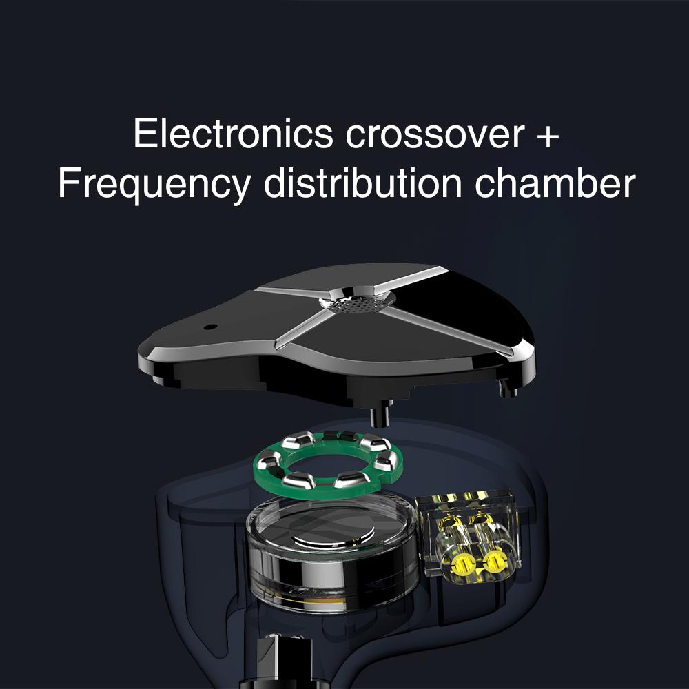 TRN ST1 1DD 1BA Hybrid In Ear Earphone HIFI DJ Monitor Running Sport Earphone Earplug Headset With QDC Cable TRN V90 BA5 10