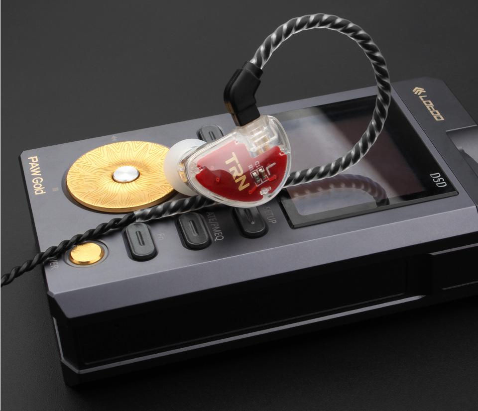 TRN V30 2BA+1DD Hybrid Earphone DJ IEM Monito Sport Earphone 3 Drive Earplug Headset 2Pin Detachable Trn HIFI Earphone 11
