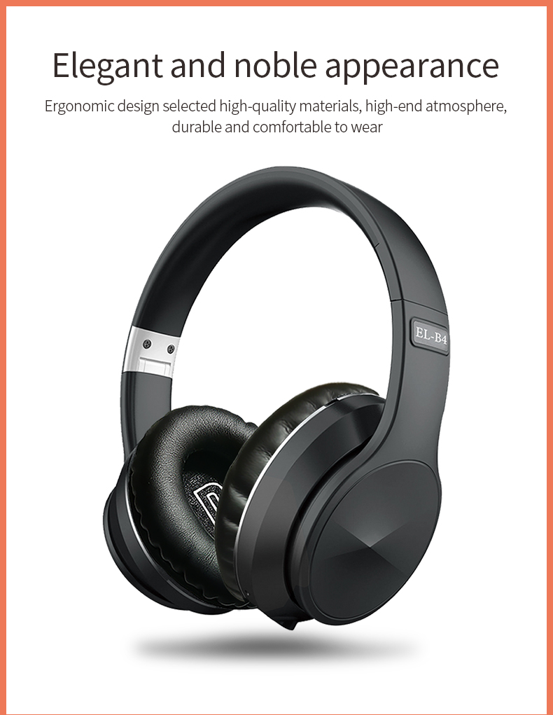 Bluetooth 5.0 Wireless Headphone Foldable Stereo High Quality Sound Bluetooth Sport Headset Support TF Card FM Radio AUX Mode 1