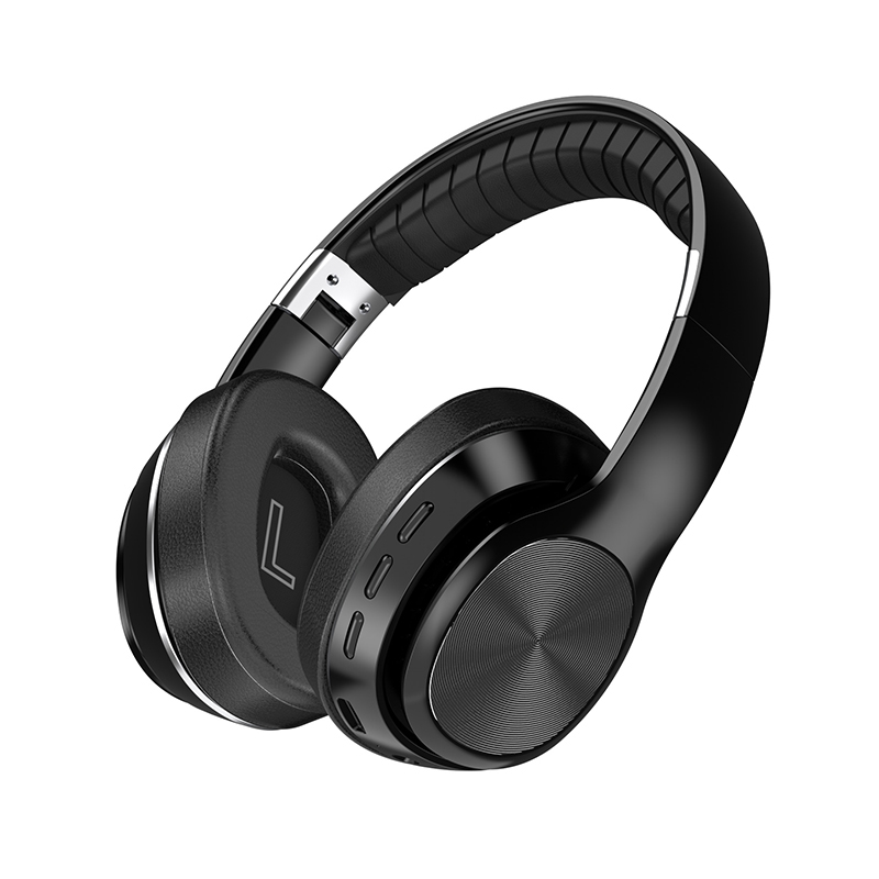 HiFi Wireless Headphones Bluetooth Foldable Headset Support TF Card/FM Radio/Bluetooth AUX Stereo Headset With Mic Deep Bass 10
