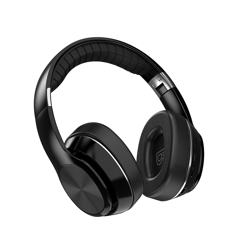 HiFi Wireless Headphones Bluetooth Foldable Headset Support TF Card/FM Radio/Bluetooth AUX Stereo Headset With Mic Deep Bass 12
