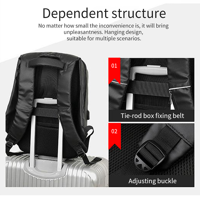 LED Display Screen Backpack for Men Women Smart Laptop Backpacks Waterproof Bag Outdoor Walking Advertising Billboard Wifi Bags 11